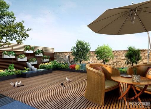 小型屋顶花园设计图