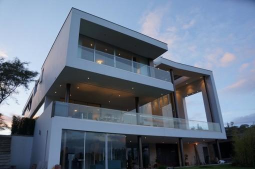 别墅设计#厄瓜多尔豪华山坡别墅