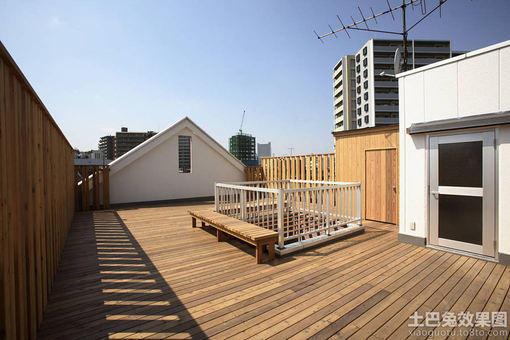 实木顶楼露台装修效果图