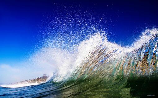 【震撼唯美的海浪特写桌面高清壁纸】【分辨率1920*