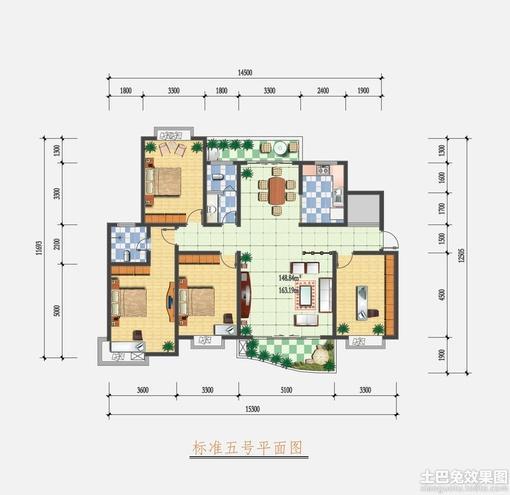 家庭室内设计平面图
