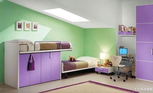 12平米 儿童 房间 装修效果图 hao123网址