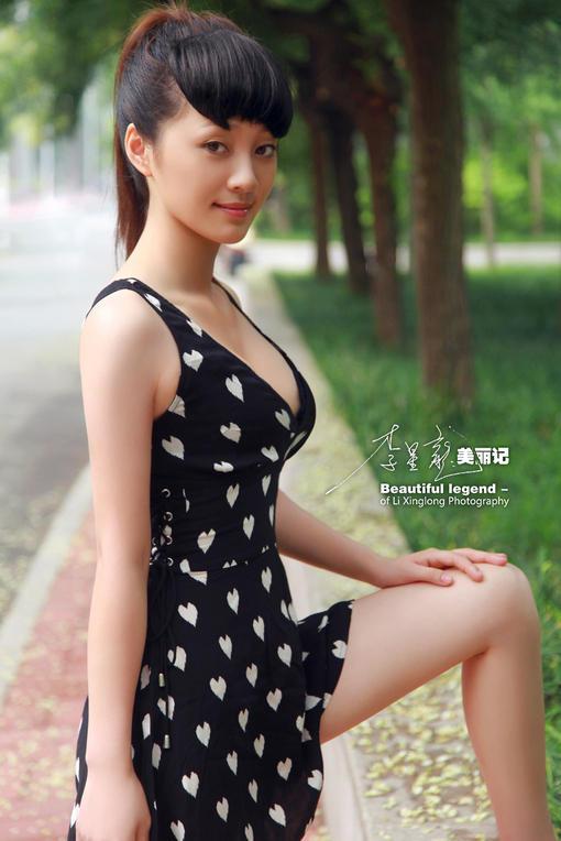 李星龙清纯美女游记 苗条唯美身材