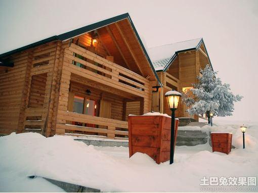 加拿大木質別墅圖片