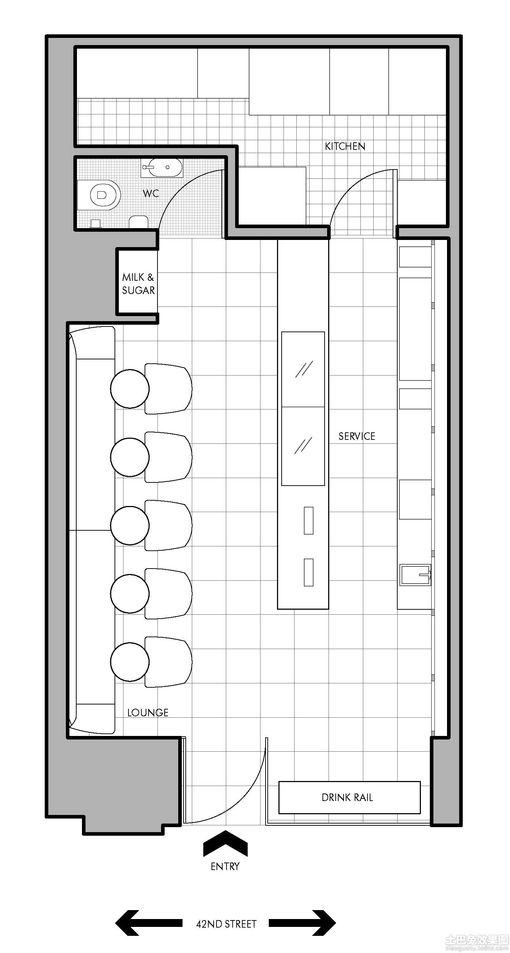 小咖啡厅的装修设计图