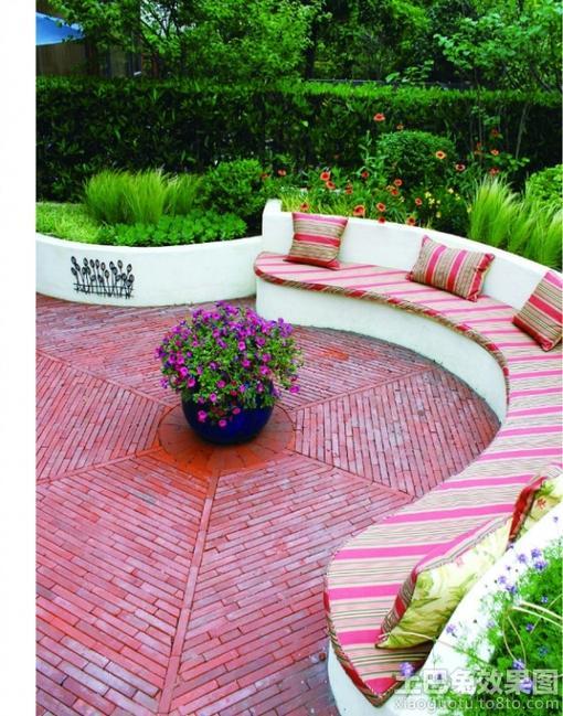 私家庭院景观设计 图片
