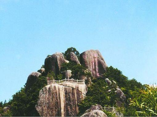 礐石塔山景区风景美图