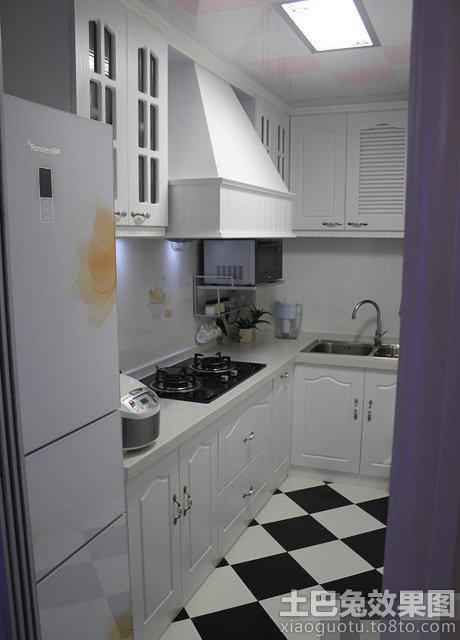 欧式厨房橱柜设计图 图片