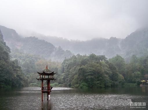 青城山风景美图