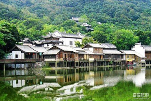 桃花寨休闲村风景美图