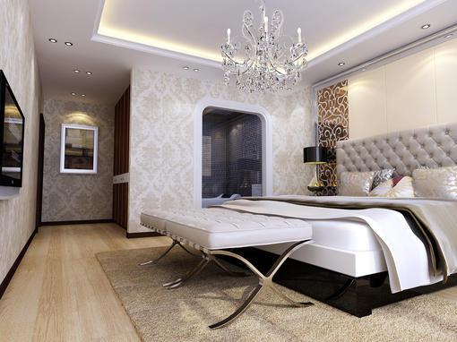 12平米卧室带卫生间装修效果图
