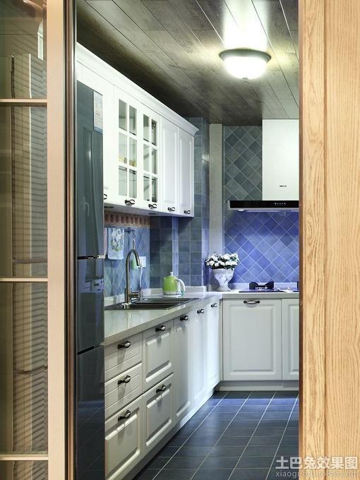家装小厨房设计效果图大全
