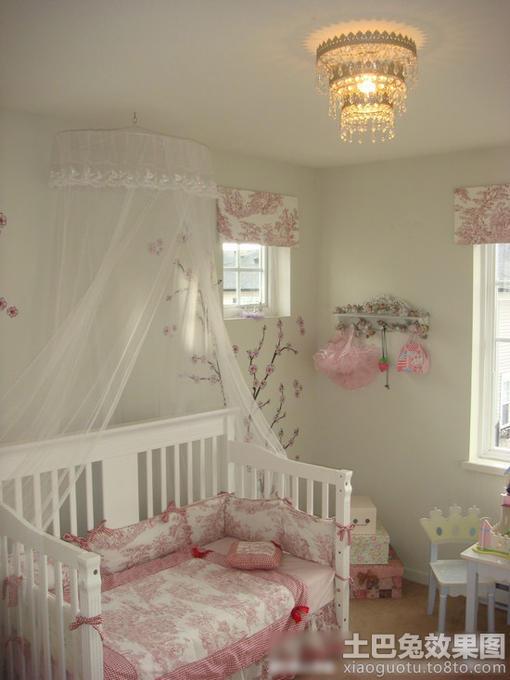 欧式风格小孩房设计效果图
