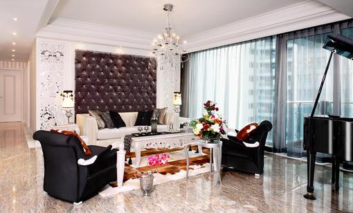 新古典小客厅装修效果图