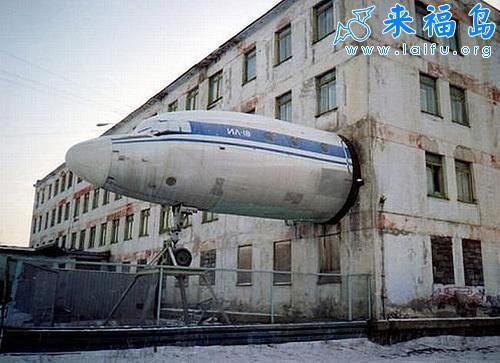 墙外的飞机头