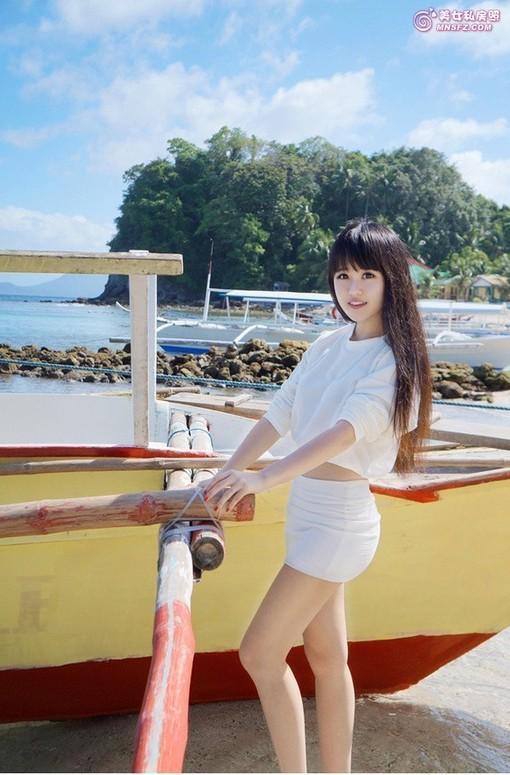 清甜美女阳光海岸 图片 hao123导航