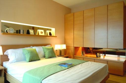 日式风格卧室衣柜装修效果图