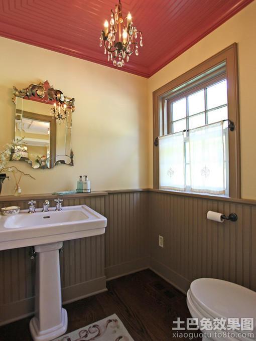 欧式小卫生间图片