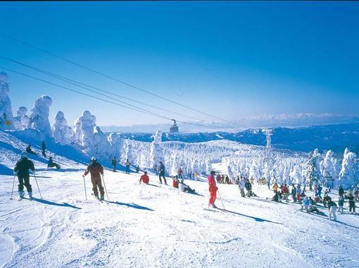 元宝山滑雪场风景美图