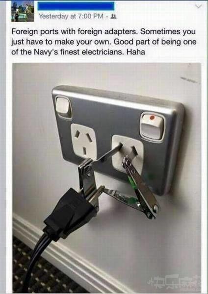 这也能充电?