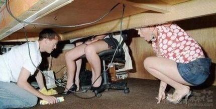 我是来修理网线的请你相信我!!!