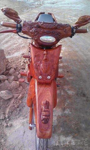 自制龙头自行车