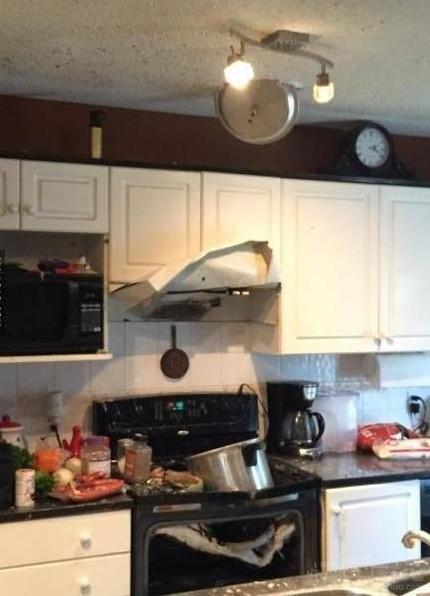 麻麻再也不准我进厨房了