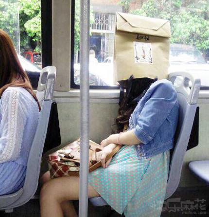 公交车遇到的奇葩妹子