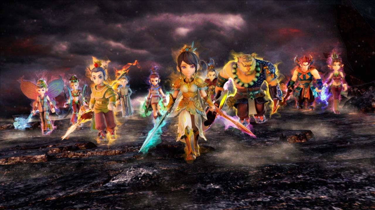 《梦幻西游2》原画