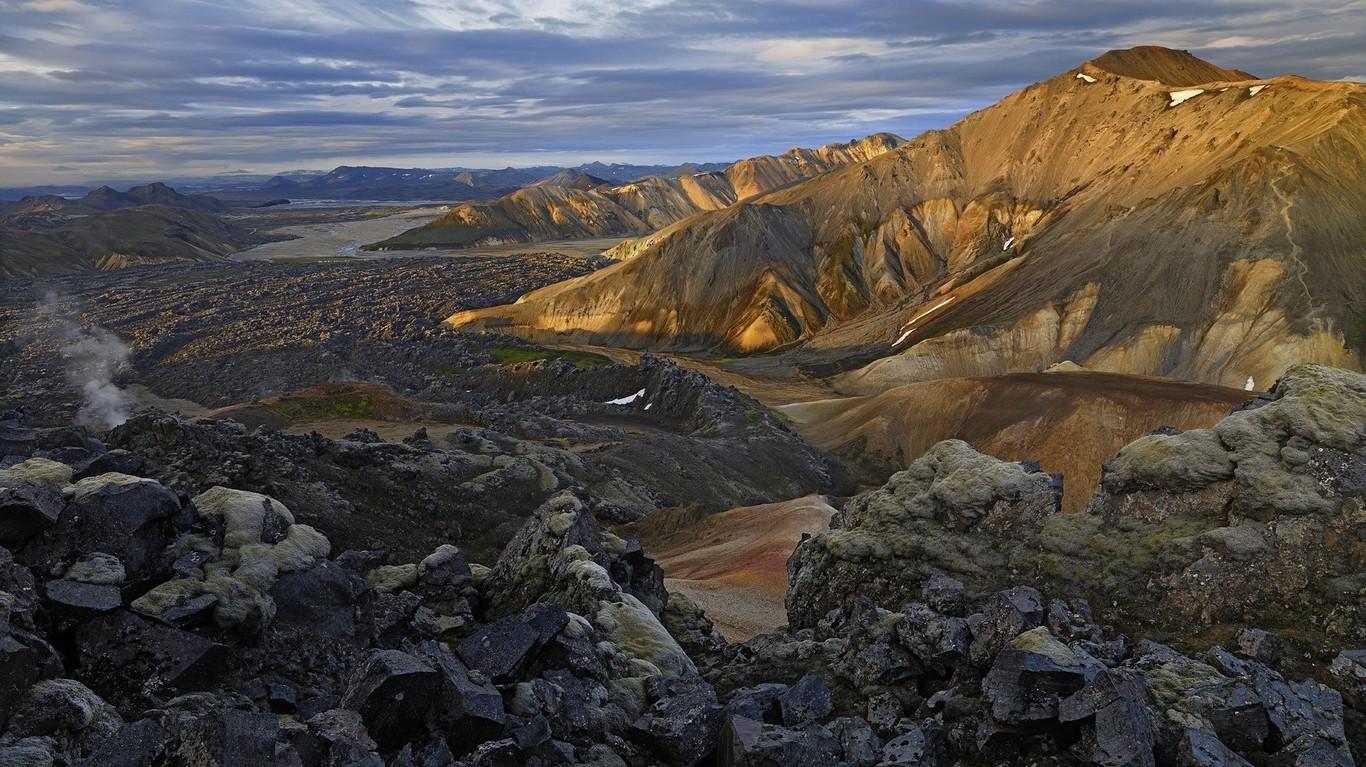 风景桌面壁纸_冰岛壁纸