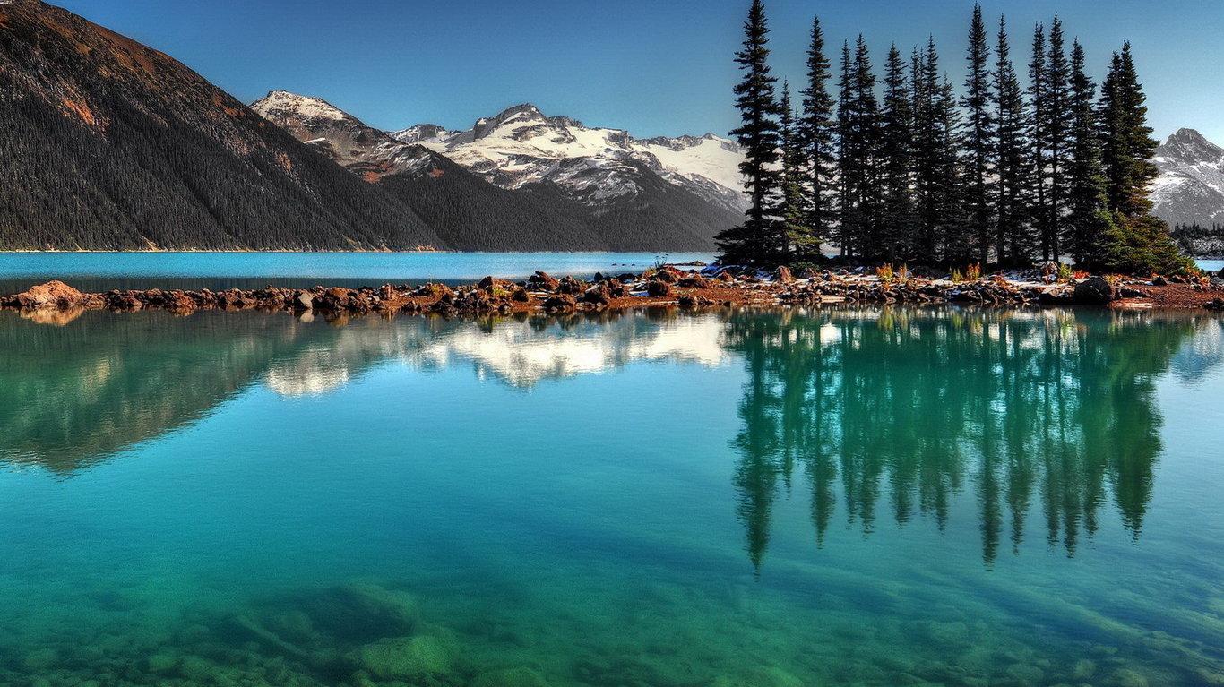 最美山水风景桌面图_图片素材