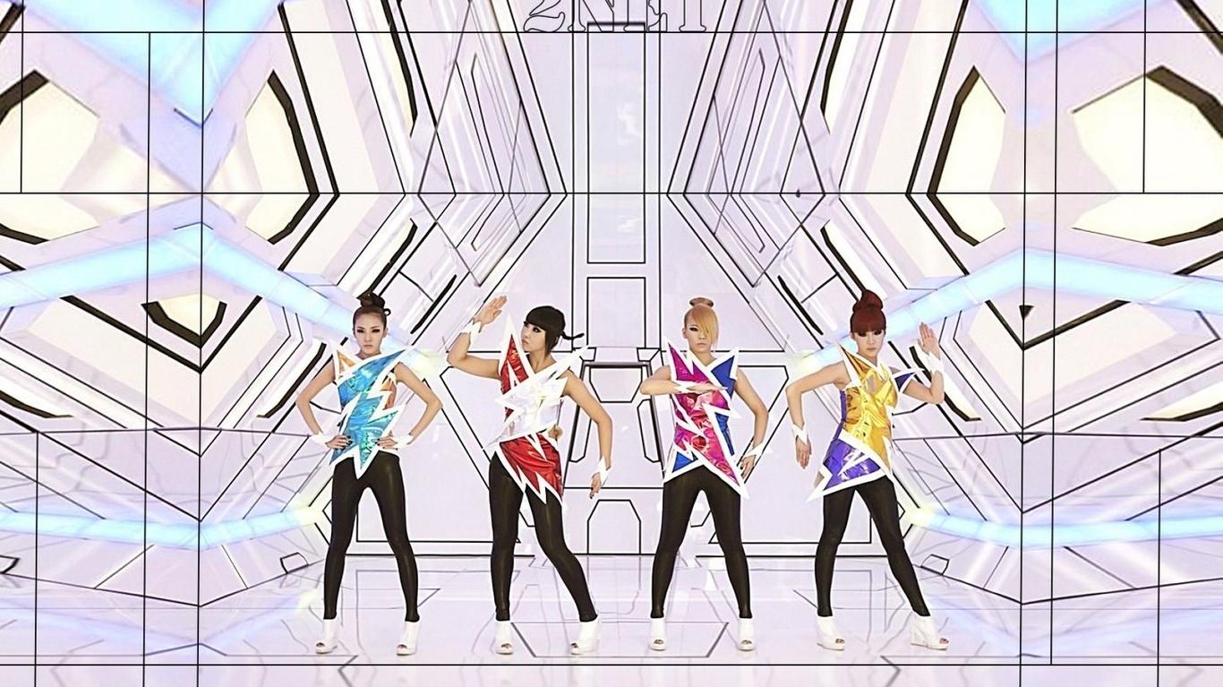 明星桌面壁紙_韓國美女組合2ne1電腦壁紙