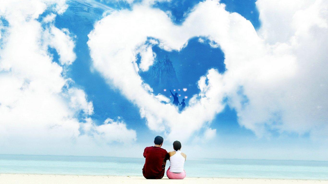 创意桌面壁纸_爱情美图壁纸