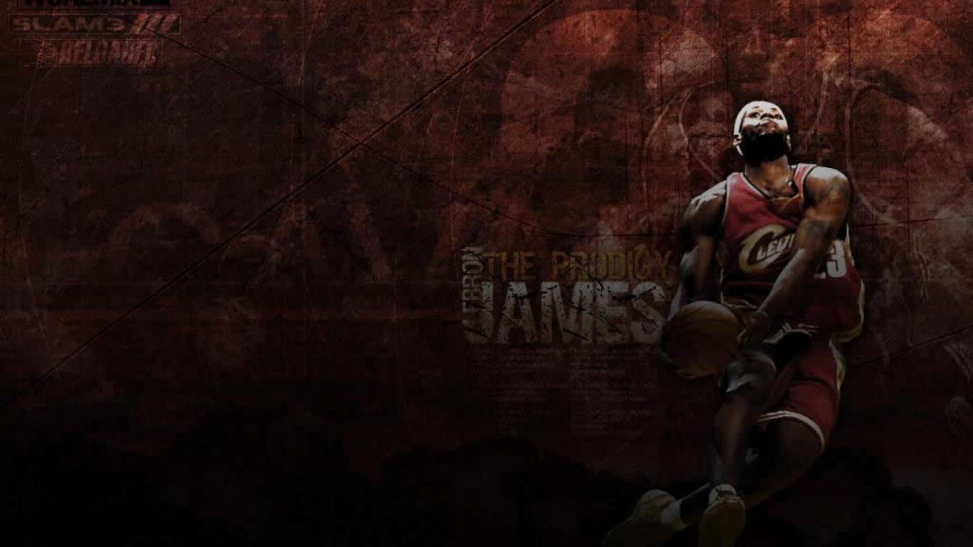 體育桌面壁紙_勒布朗-詹姆斯壁紙